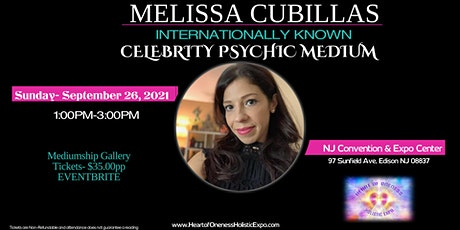 Message  from Heaven:mediumship gallery w psychic medium melissa cubillas tickets
