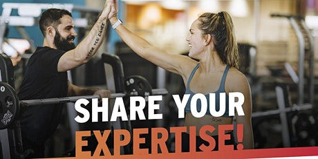 Personal Training Hire Event tickets
