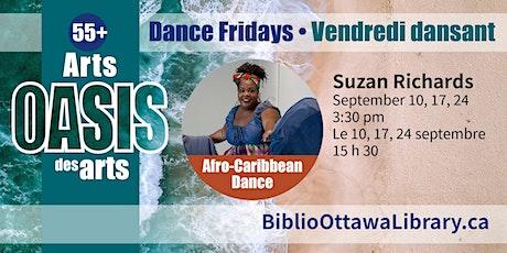 Arts Oasis des arts 55+ Afro-Caribbean dance workshop tickets