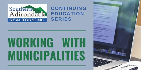 SAR Continuing Education Series | Working with Municipalities tickets