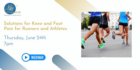 Solutions for Knee and Foot Pain for Runners and Athletes tickets
