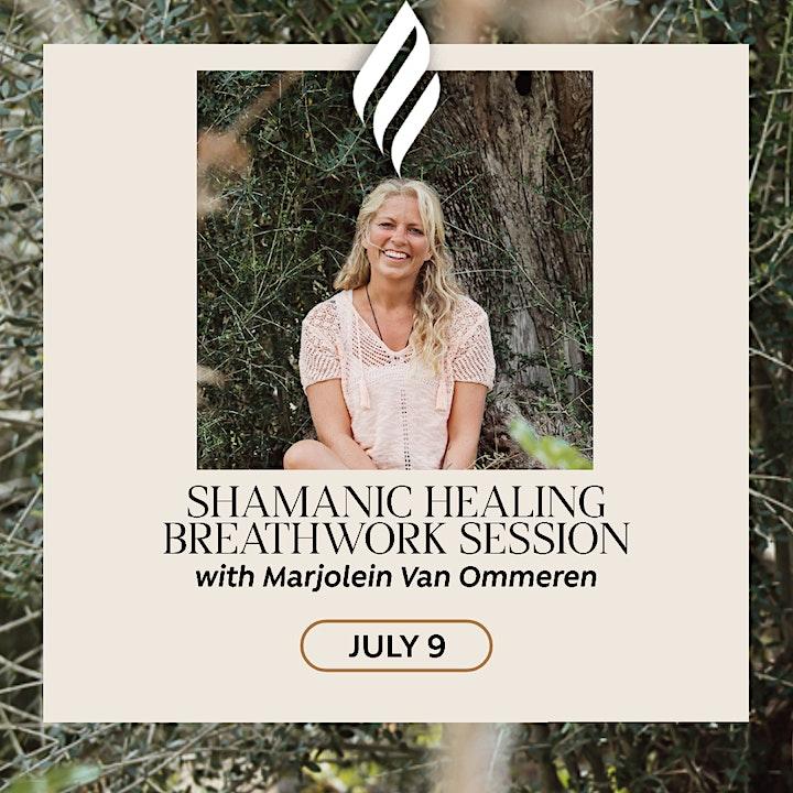 Shamanic Healing Breathwork session image
