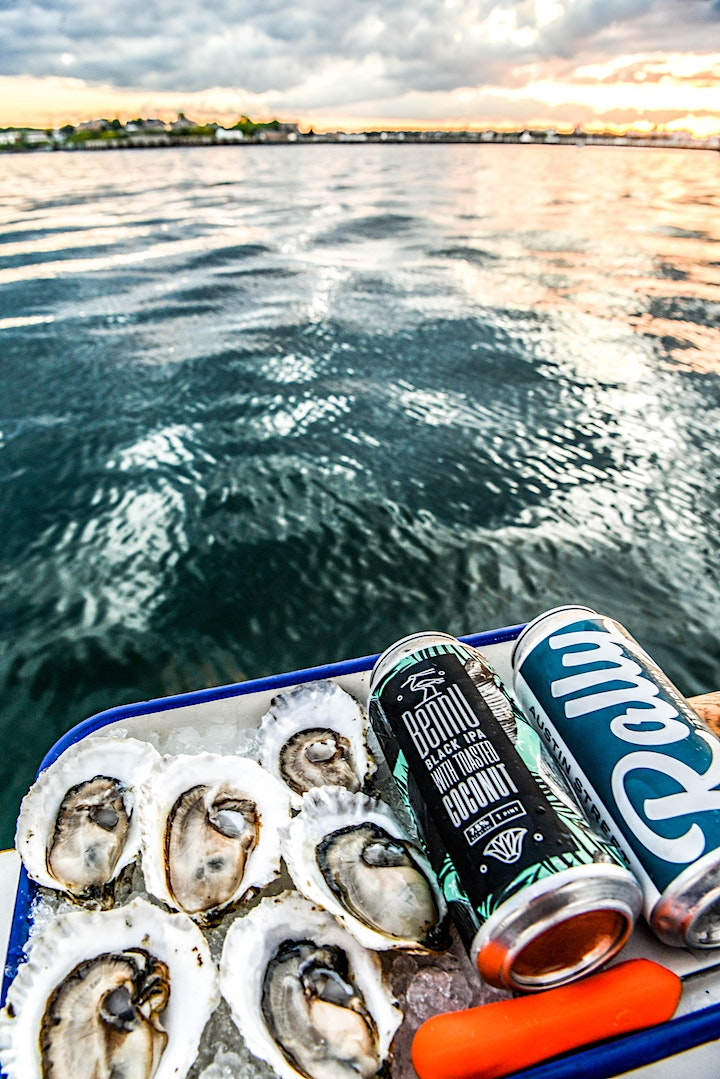 Sunset Beer and Oyster Cruise w/ Austin Street Brewing image