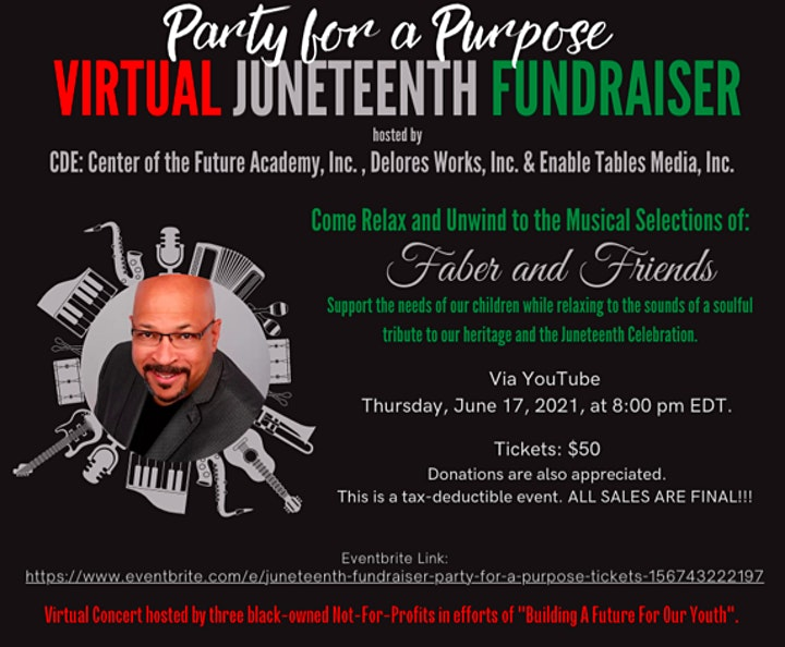 Juneteenth Fundraiser: Party For A Purpose! image