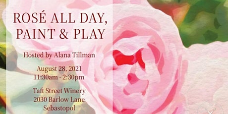 Artxcursion Presents Rosé All Day, Paint , Pancakes + Play tickets