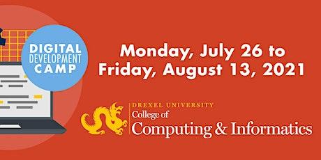 Drexel University CCI Digital Development Camp - Pre-Camp Session tickets