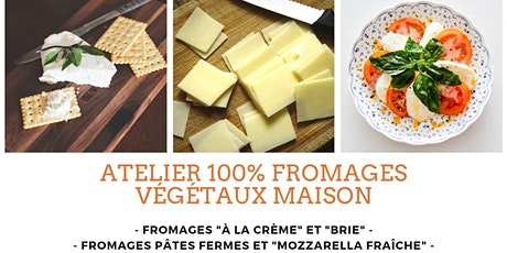 Fromages végétaux fermentés maison - FORMATION 1 de 2 billets