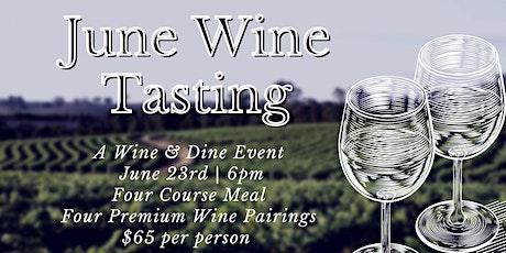 June Wine Dinner tickets