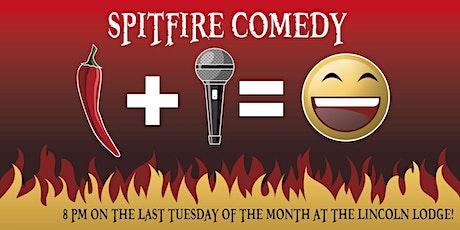 Spitfire Comedy Show tickets