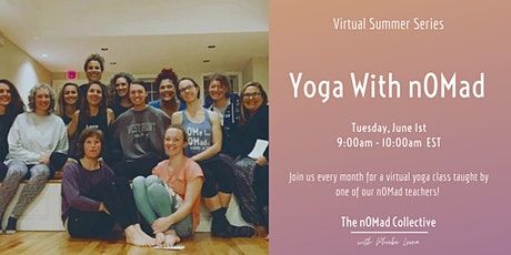 Yoga With nOMad: Summer Series tickets
