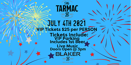 4th of July at Tarmac tickets
