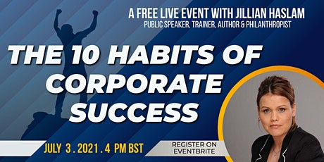 10 Habits of Corporate Success for fresh graduates & students tickets