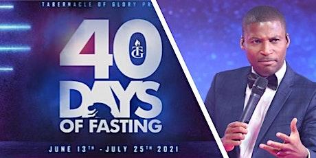 TG Boston 40 Days Fast: Pastor Greg (June 27th-29th) tickets