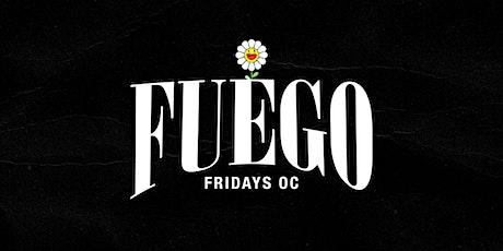 FUEGO FRIDAYS OC HIP-HOP & LATIN VIBES tickets