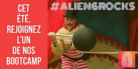 Alien6 Bootcamp billets