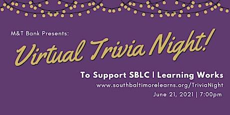 SBLC Virtual Trivia Night tickets