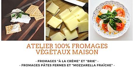 Fromages végétaux - Les pâtes fermes et la mozzarella fraîche - 2 de 2 billets