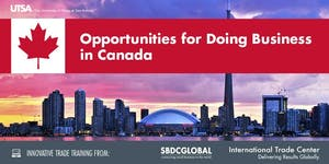 Opportunities for Doing Business in Canada