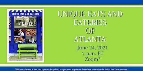 """Amanda Plumb  discusses her new book """"Unique Eats and Eateries of Atlanta"""" tickets"""