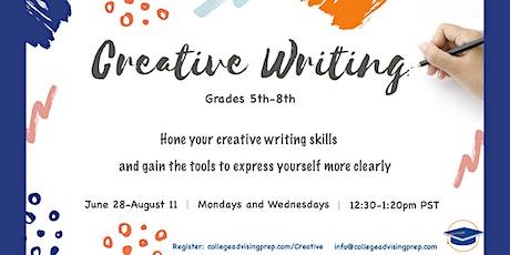 Creative Writing (Grades 5-8) tickets