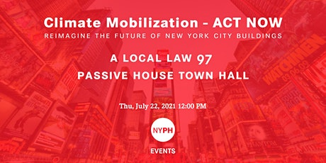 Town Hall | Climate Mobilization - ACT NOW tickets