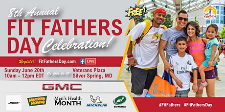 """Free - 8th Annual """"Fit Fathers Day"""" Celebration: Hybrid Edition tickets"""