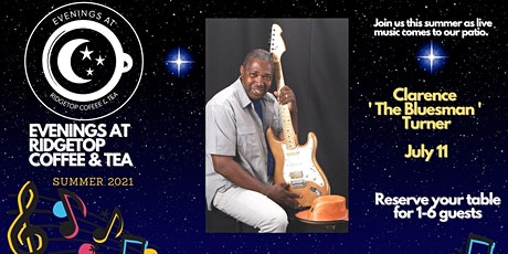 Clarence 'The Bluesman' Turner tickets
