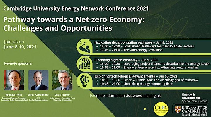 Cambridge University Energy Network Conference-2021 Webseries image