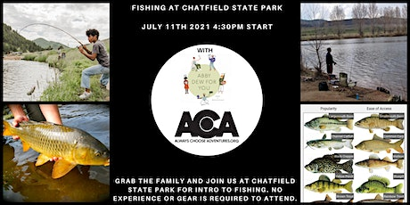 Fishing at Chatfield State Park with ACA! tickets
