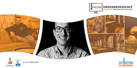 Online ondernemerscafé Roermond - Het nieuwe netwerken tickets