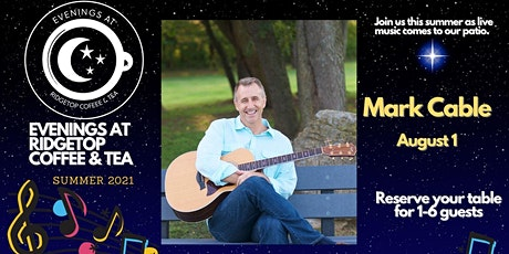 Mark Cable live at Ridgetop Coffee. tickets