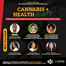 Cannabis + Health Equity: Health Professional's Role in the Medical Canna tickets