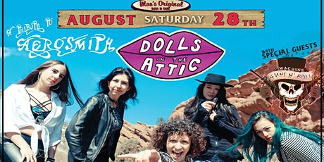 Dolls in the Attic w/ Machine Guns and Roses tickets
