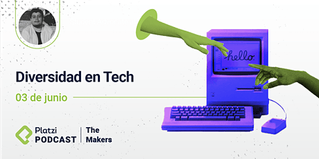 """""""La diversidad en tech"""" - Diego Hernández entradas"""