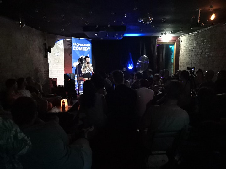 New in Town - The Social English Comedy Show with FREE SHOTS (FREE ENTRY) image