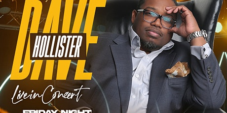 """An Intimate Night with """"Dave Hollister"""" Live in Concert Friday, June 25th tickets"""