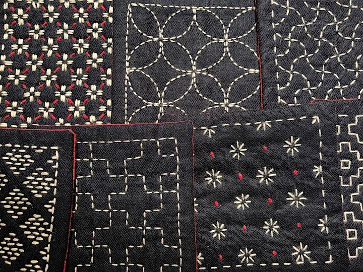 Slow-stitching Sashiko and Boro - Japanese visible mending (Part 1 & 2) image