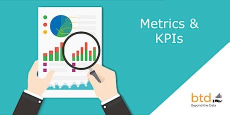 Designing Metrics and KPIs That Work (Virtual) tickets