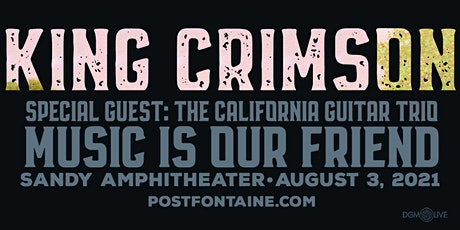 King Crimson With Special Guests: The California Guitar Trio tickets