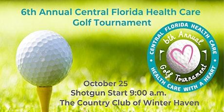 6th Annual Central Florida Health Care Golf Tournament tickets