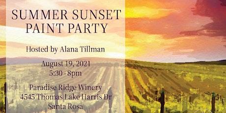 Artxcursion presents Summer Sunset Paint Party tickets