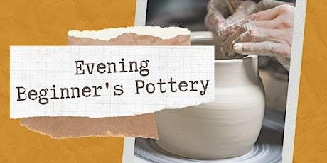 Evening Beginner's Pottery with Louise Schollaert tickets