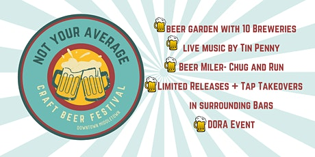 Not Your Average Craft Beer Festival tickets