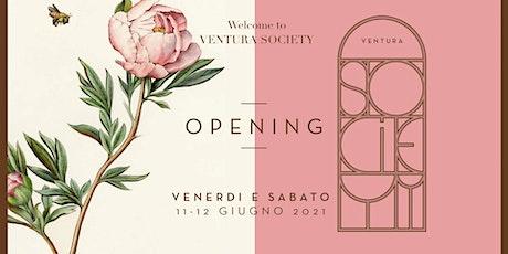 VENTURA SOCIETY ❃ Welcome ❃ biglietti