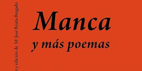 Presentación de libro: Manca y otros poemas, de Juana Adcock entradas