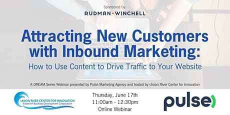 Attracting New Customers with Inbound Marketing (Free Webinar) tickets