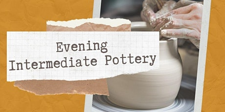 Evening Intermediate Pottery with Jackie Goolsbey tickets