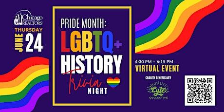 PRIDE Month - LGBTQ+ History Trivia Night tickets