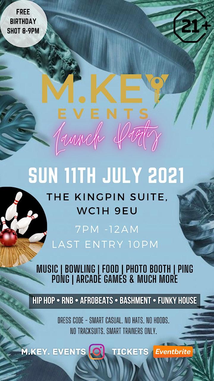 M.KEY Events Launch Party image