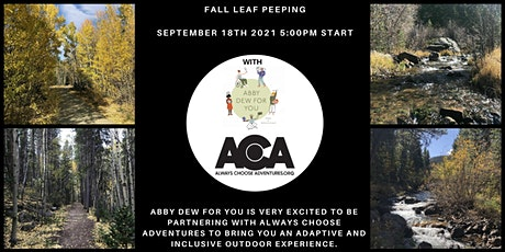 Fall Leaf Peeping with Abby Dew for You & ACA tickets